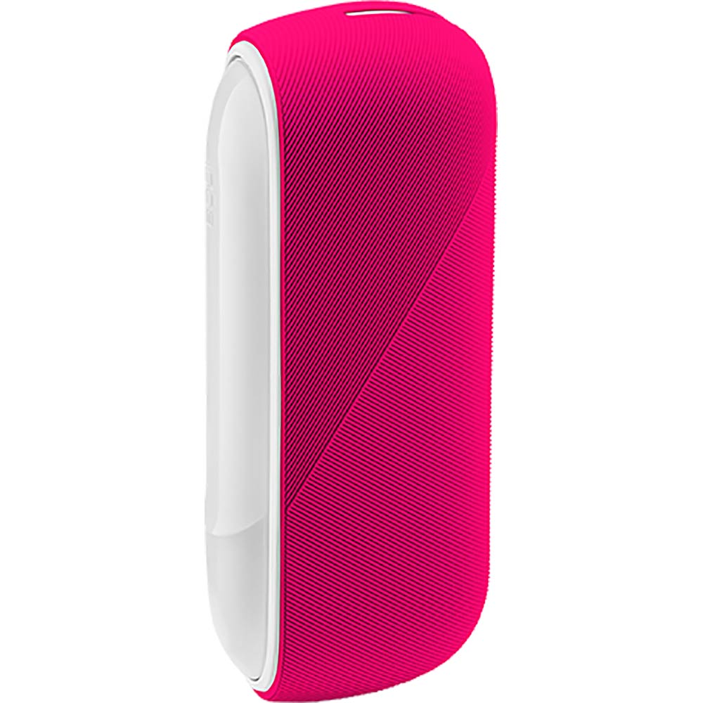 Silicon Sleeve Case for IQOS 3 Duo - Ruby Pink