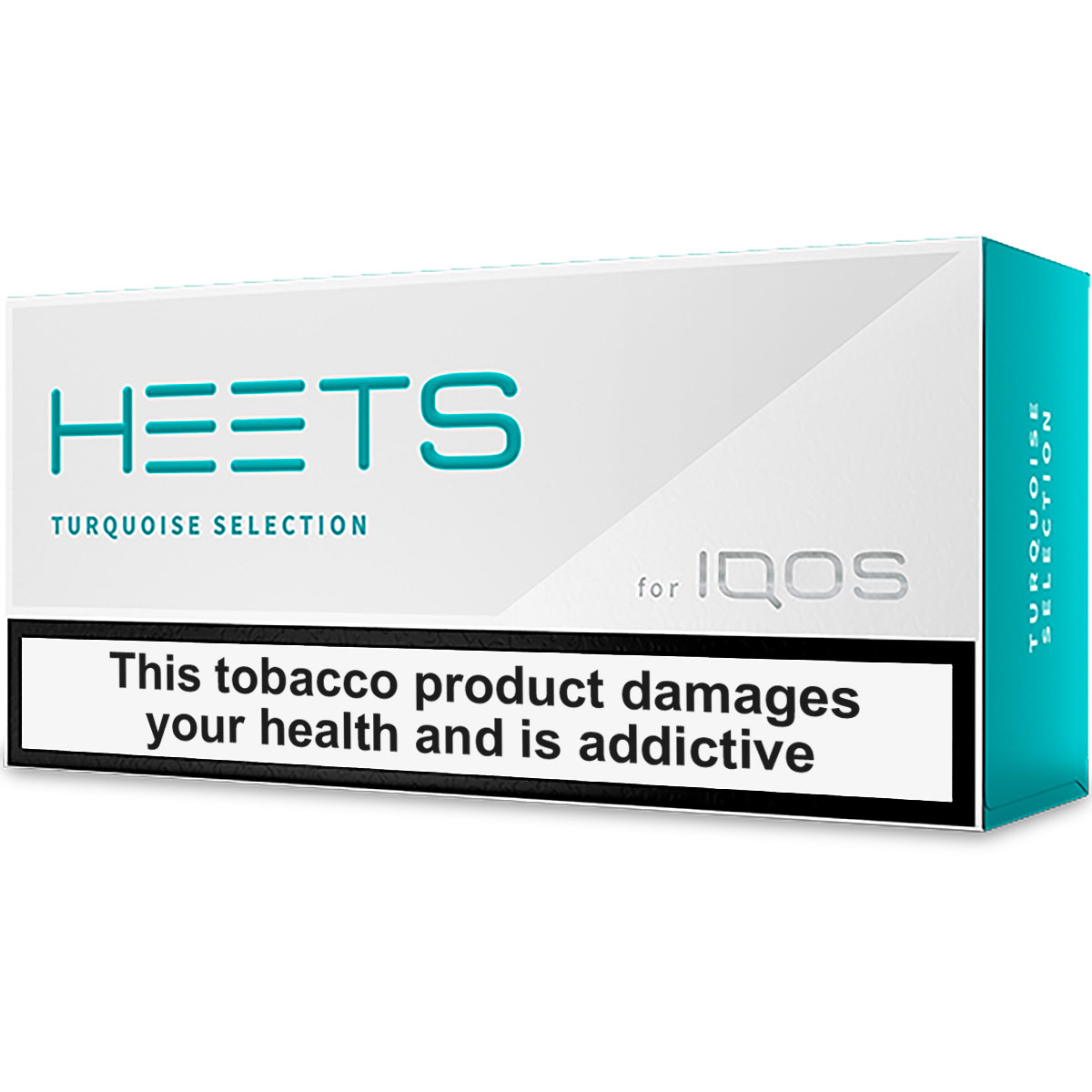 IQOS HEETS Turquoise Selection / Label