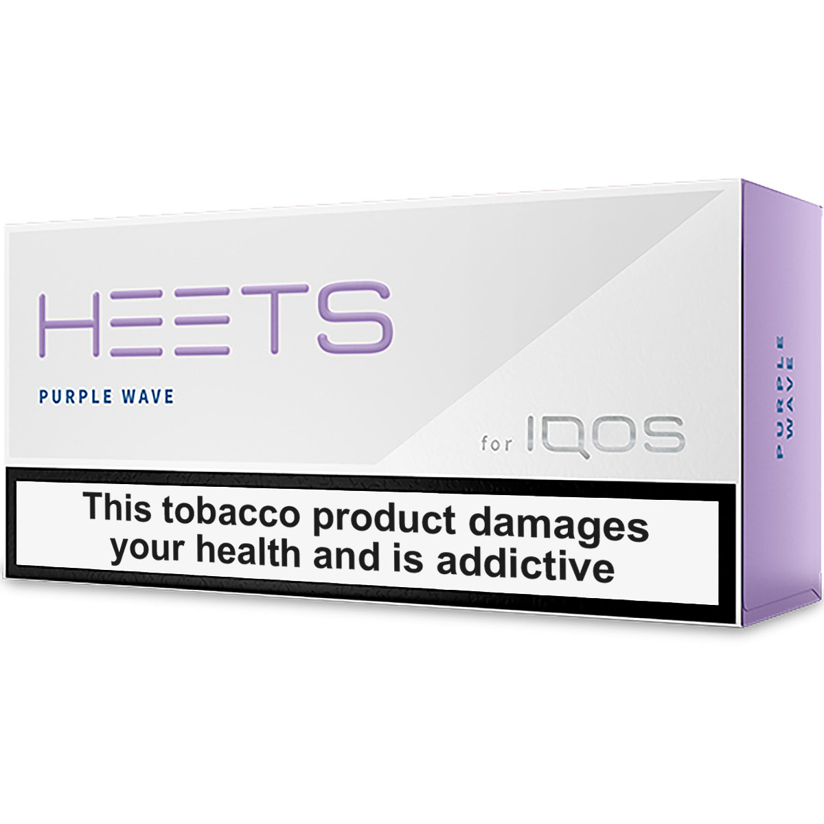 IQOS HEETS Purple Wave / Label