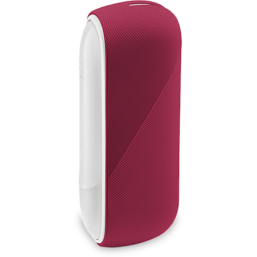 Silicon Sleeve Case for IQOS 3 Duo - Deep Red