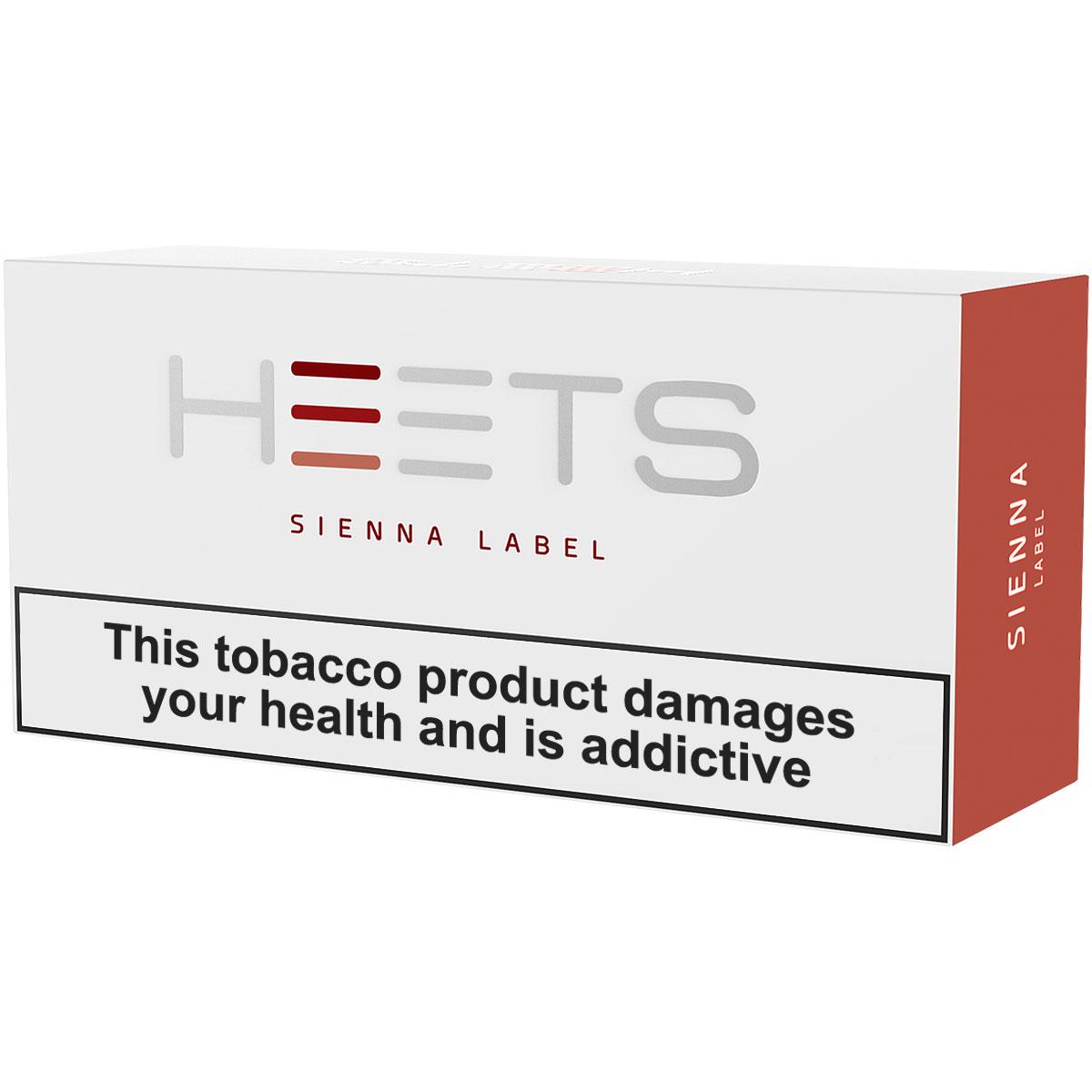 Heets - Sienna Label
